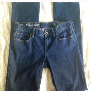 Madewell Rail Straight denim jeans size 28